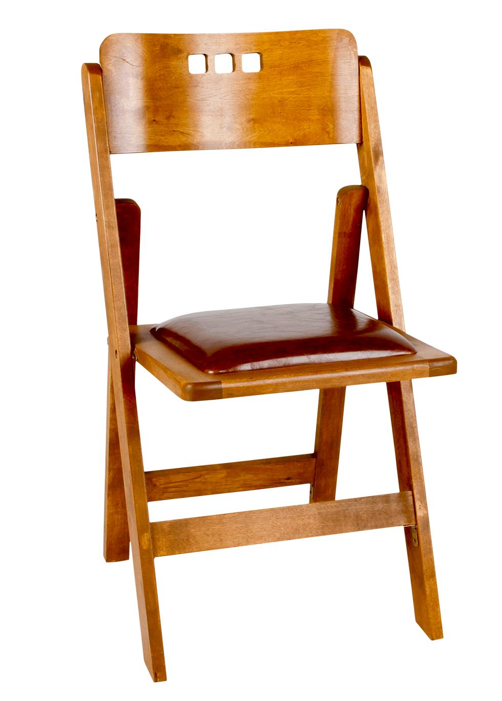 3 Hole Walnut Wood Folding Chair Rentals Bright Rentals