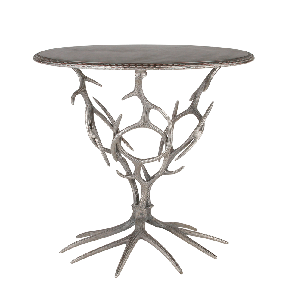 Antler cocktail table 20 x 26 high rentals bright rentals for Cocktail tables rental los angeles